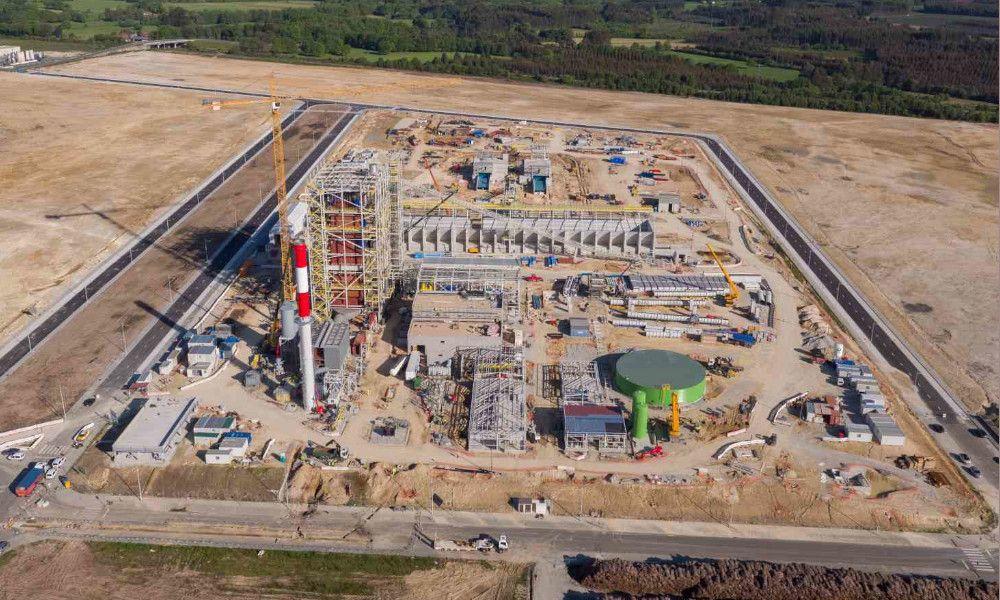 Greenalia completa al 80% la mayor planta de biomasa de Galicia