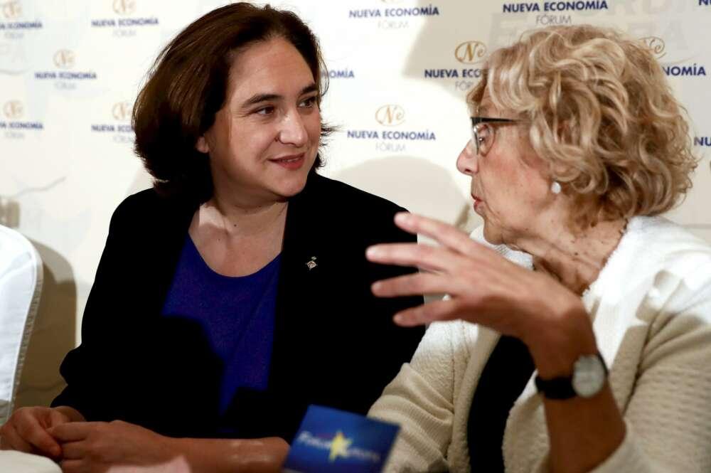 Colau, Carmena, 'Kichi' y otros alcaldes de Podemos que se la juegan