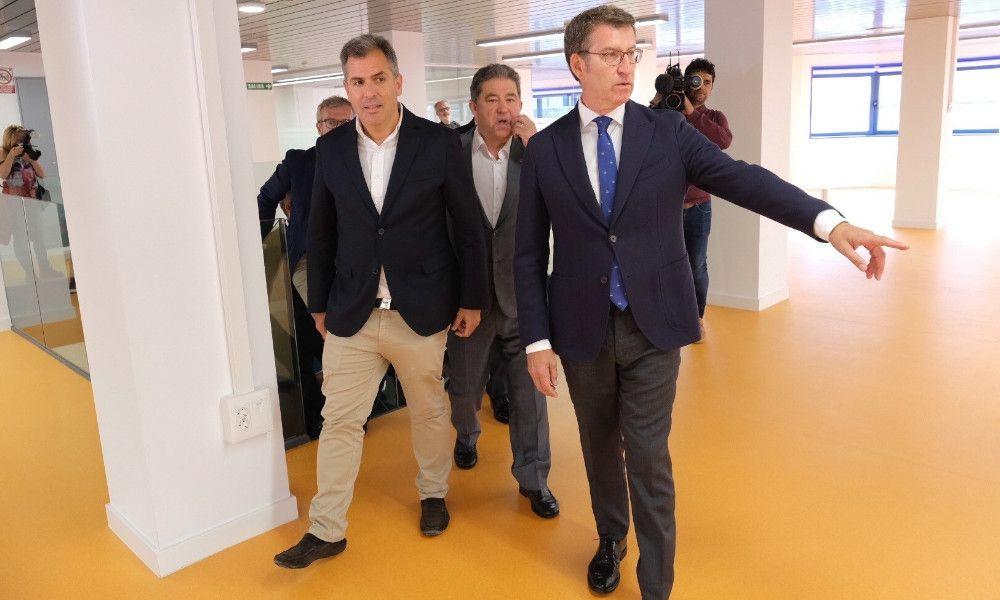 Feijóo culpa al PSOE del pacto con Jácome