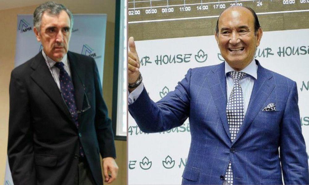 Plan de rescate en Sniace de Félix Revuelta y José María Castellano