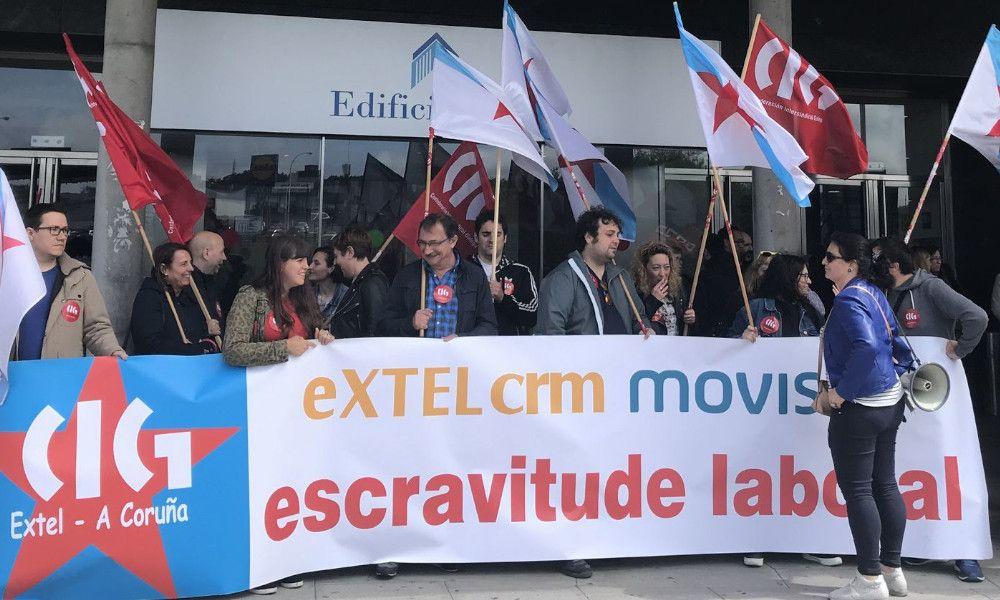 Tijeretazo de Extel, subcontrata de Movistar, a los salarios