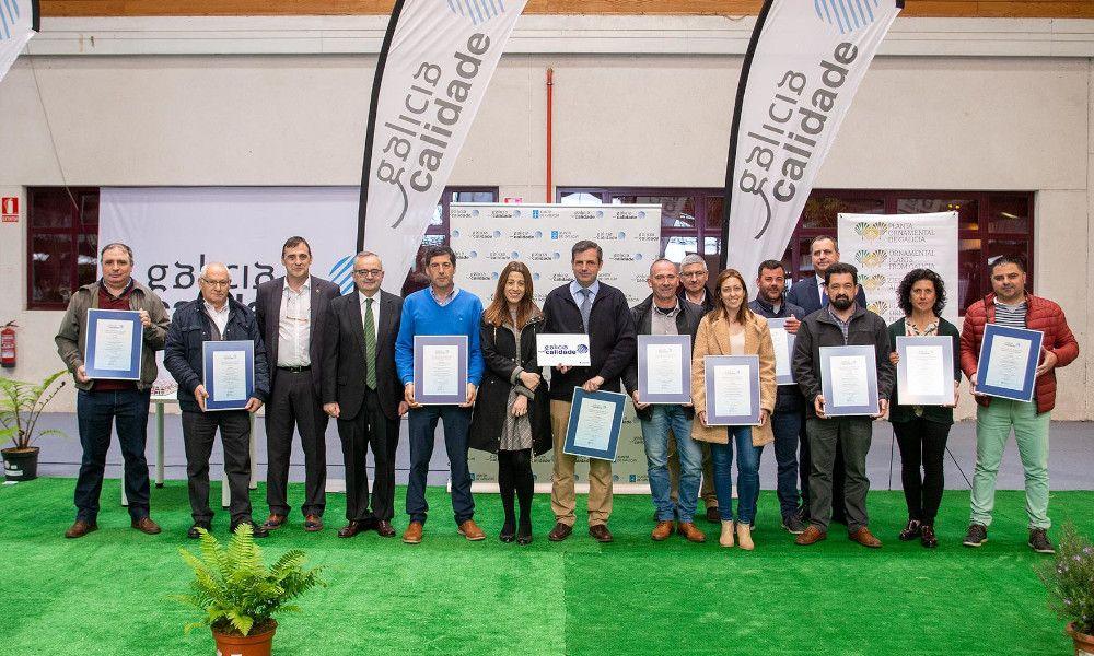 Nueve viveros gallegos reciben el certificado de Galicia Calidade