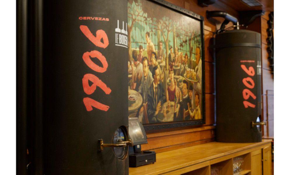 Nuevo salto de Estrella Galicia: su 1906, ahora también de bodega