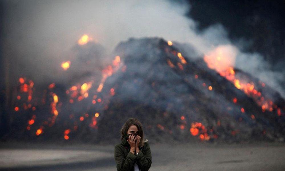 As Neves. Así vive el municipio arrasado por el fuego