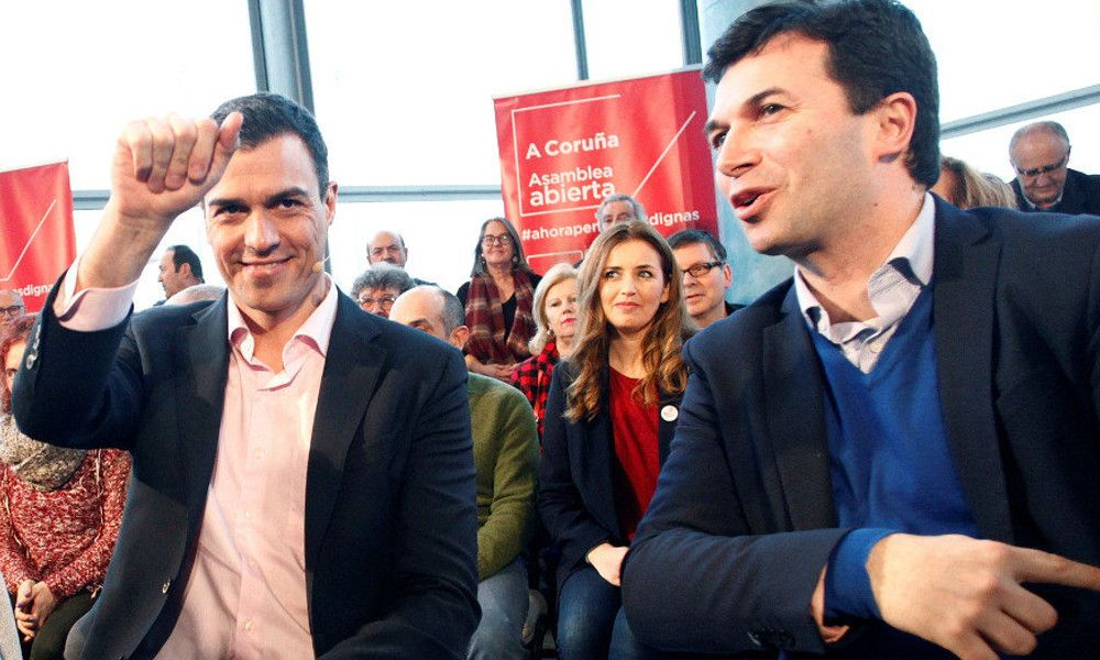 Sánchez busca candidato para el PSdeG para defenestrar a Gonzalo Caballero