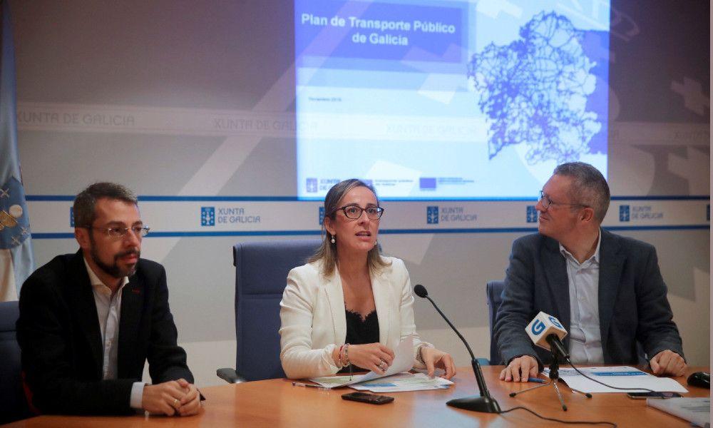 Los recursos paralizan el macrocontrato de transporte de la Xunta