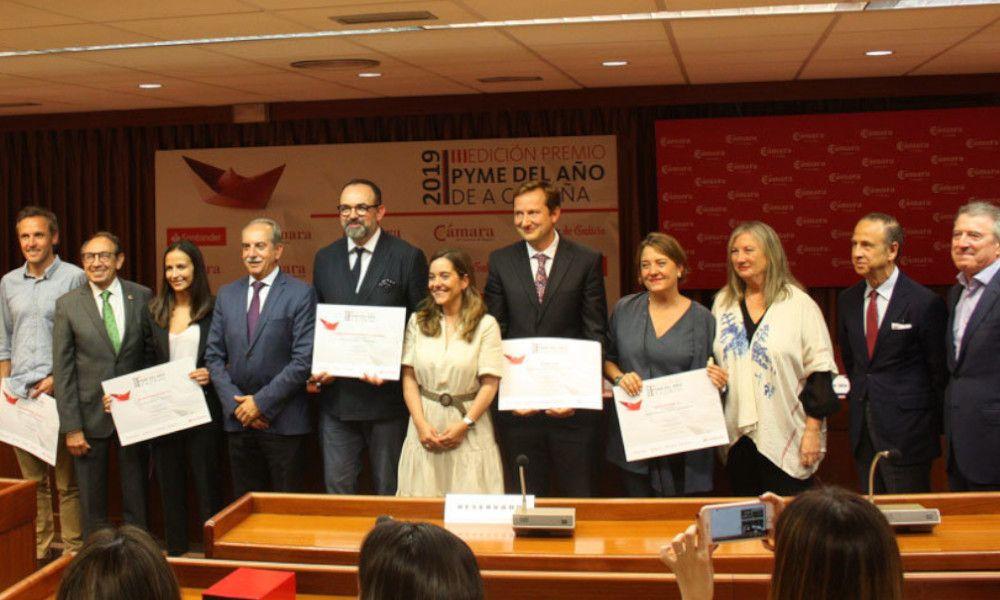 Genesal se lleva el premio Pyme del Año en A Coruña
