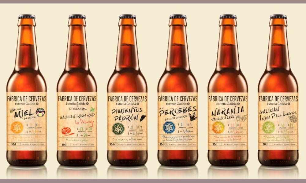 Estrella Galicia crea su nueva cerveza con tres variedades de lúpulo