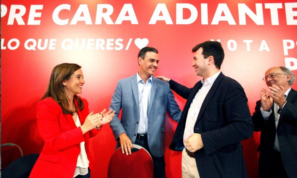 El PSOE podría gobernar en seis de las siete ciudades