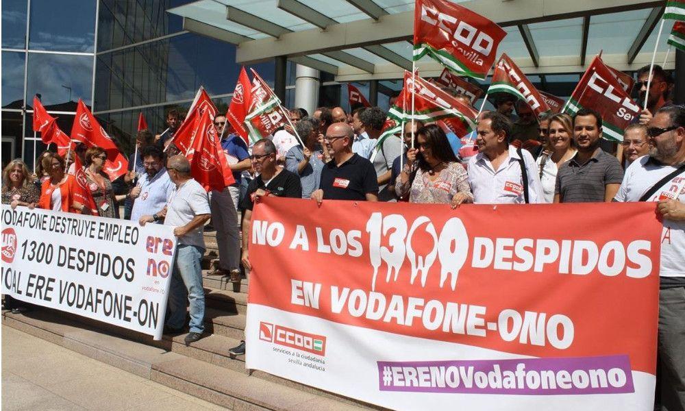 Vodafone culmina siete años de recortes en Galicia