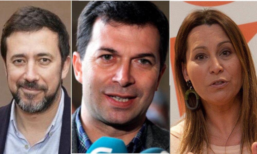 PSOE, Podemos, Cs y Vox: el relato de Madrid naufraga en Galicia
