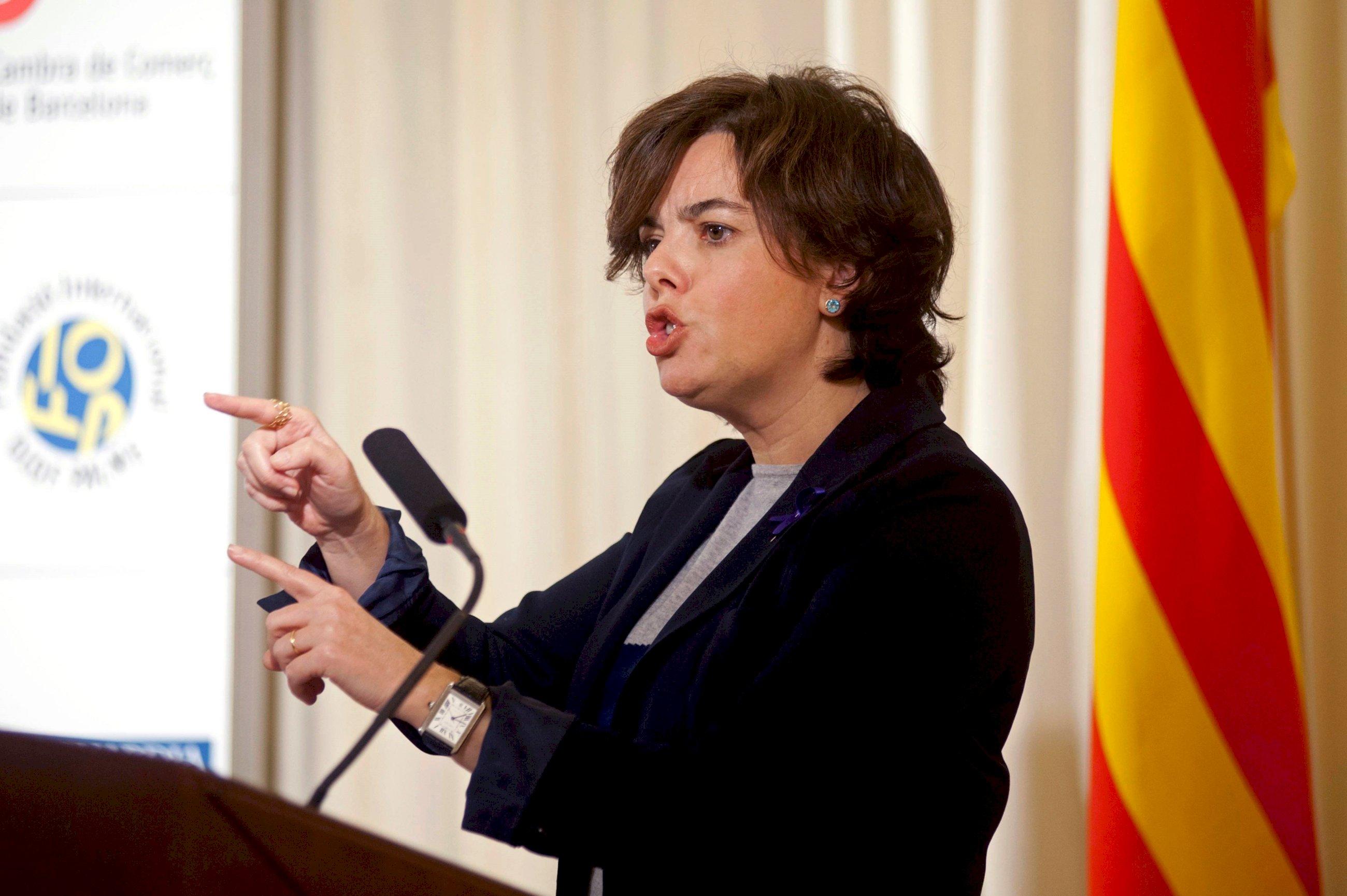 El Gobierno exhibe el 155 como el manto protector para los catalanes