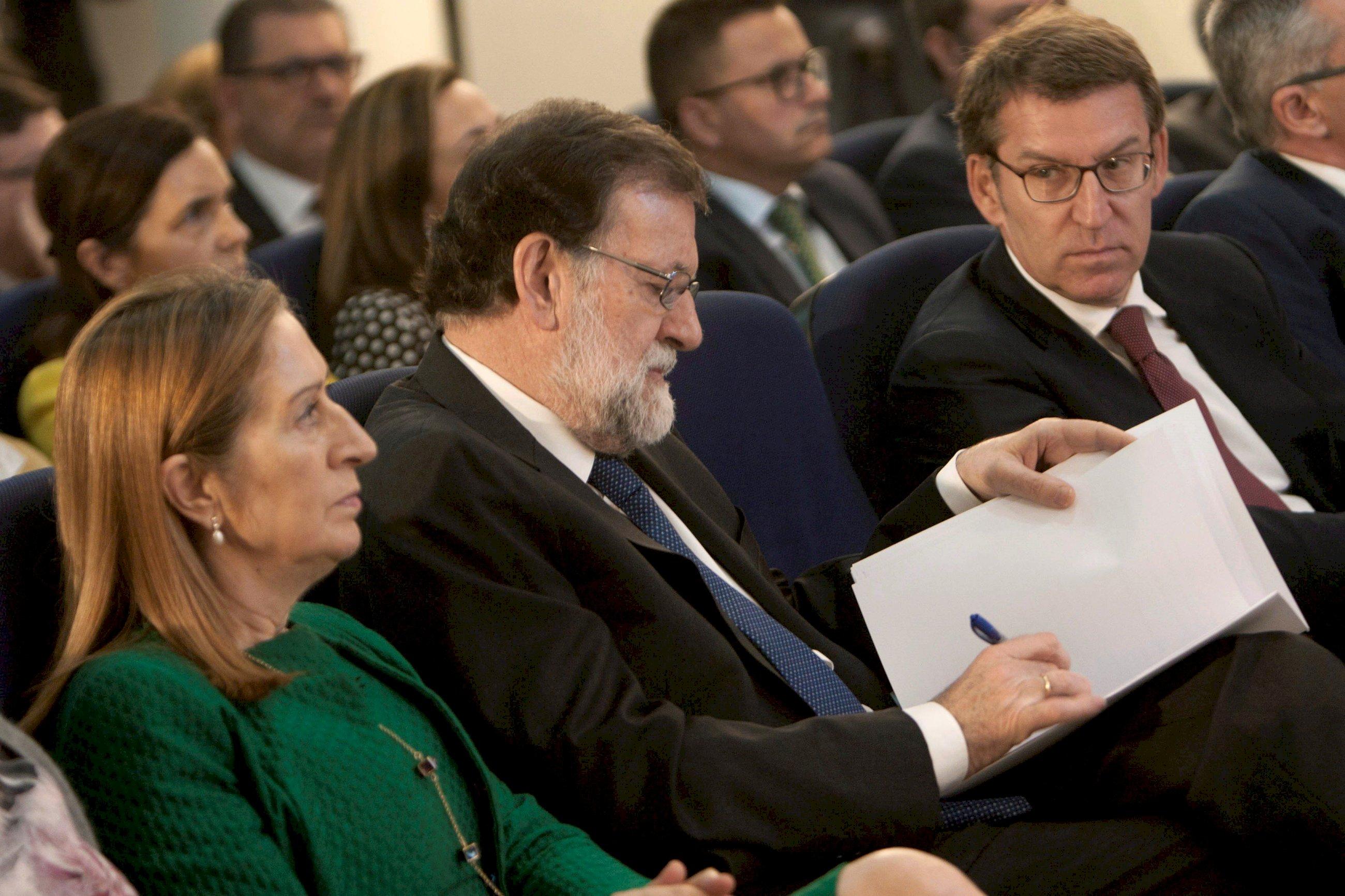"""Feijóo reduce las acusaciones de Bárcenas contra Rajoy a """"una estrategia de defensa"""""""