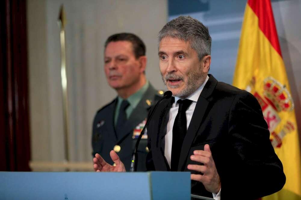 """Marlaska niega """"persecución política"""" en las imputaciones por Alcoa"""