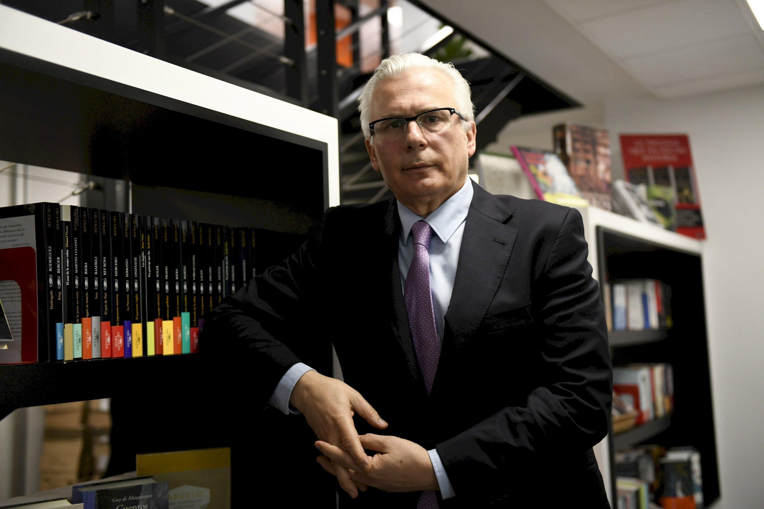 Baltasar Garzón defenderá al director de Pemex que compró Barreras