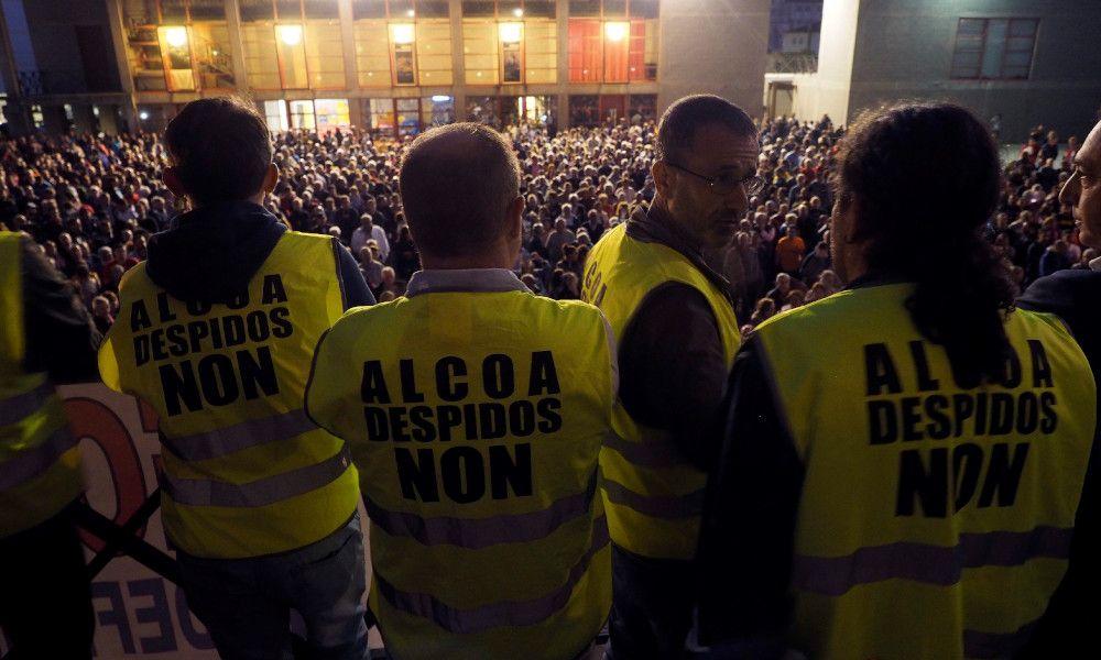 El bloqueo político pone el contador a cero para Alcoa y Navantia