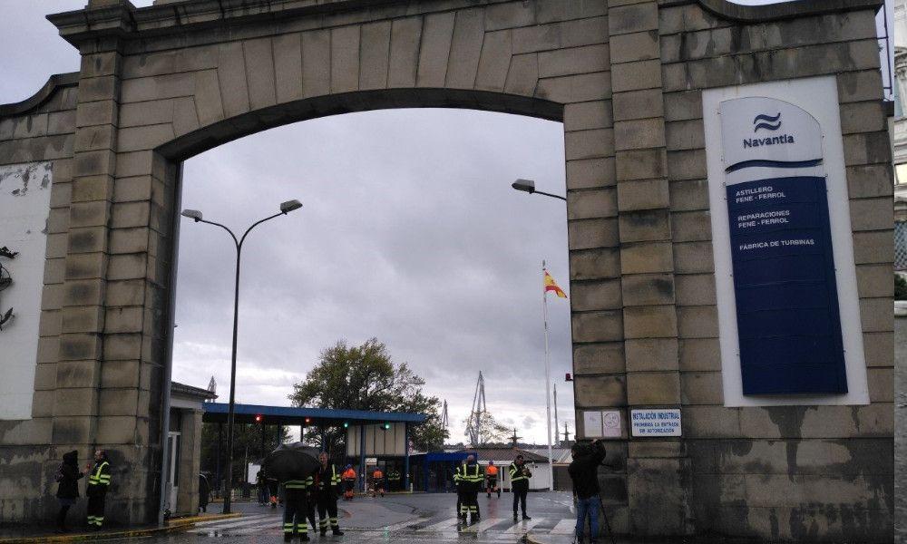 Covid-19: denuncian a Navantia-Ferrol por incumplir el protocolo