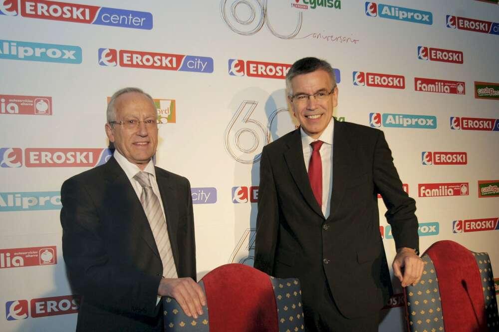 El presidente de Eroski avanza un plan de expansión por el norte
