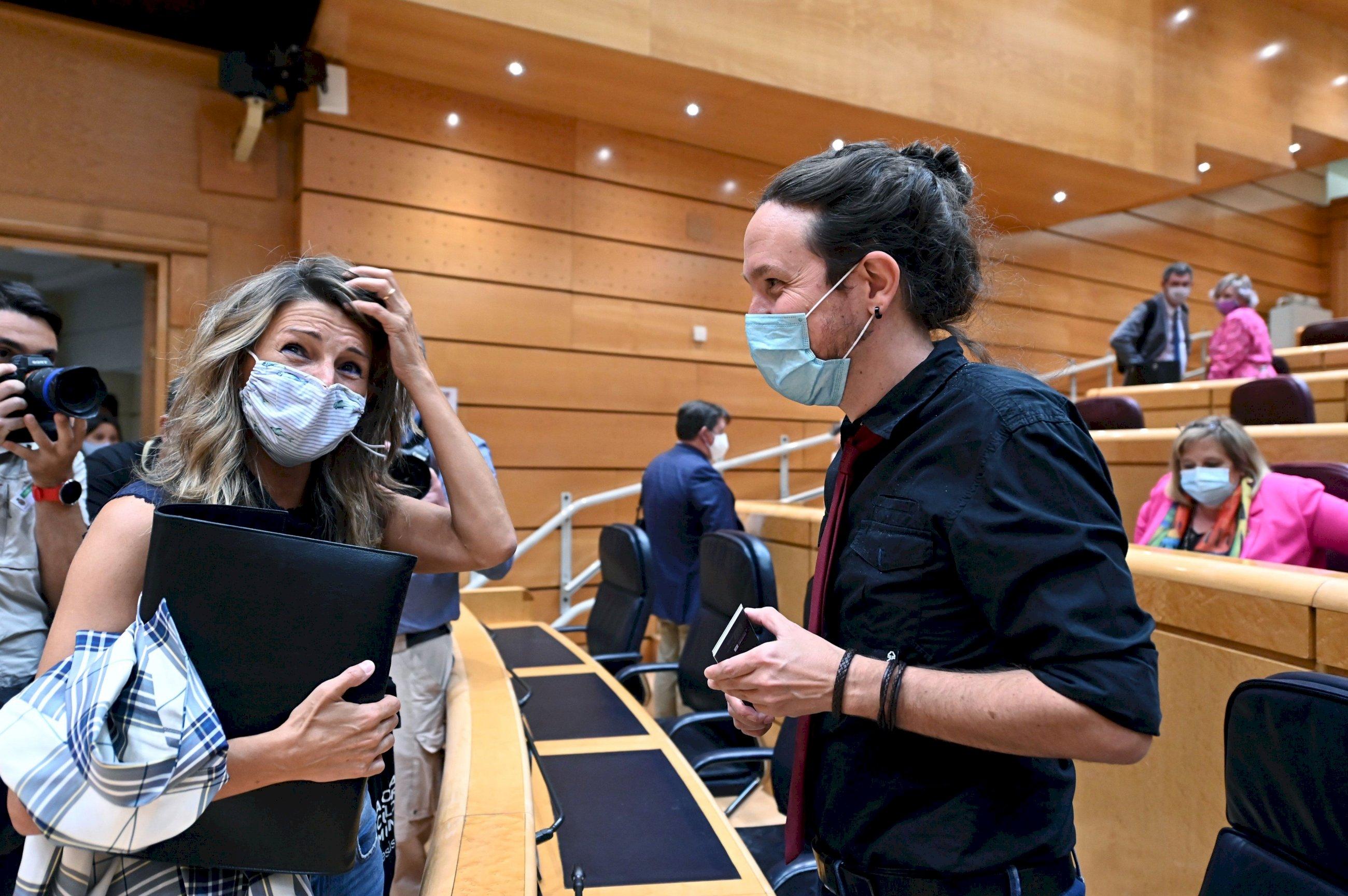 Yolanda Díaz gana a Pablo Iglesias hasta entre los votantes de Podemos