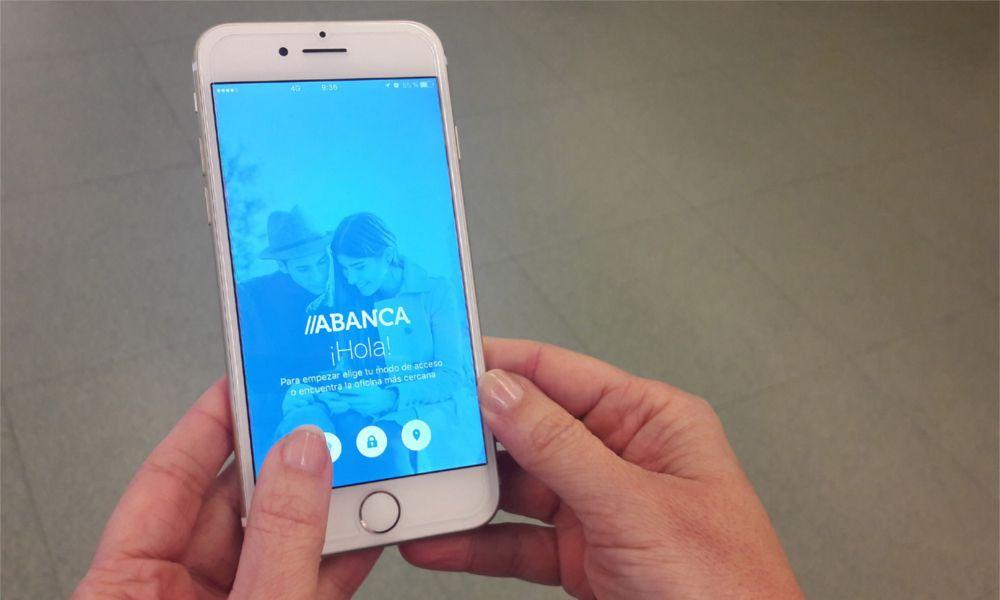 Abanca sitúa su 'app' a la cabeza de las más valoradas por los usuarios
