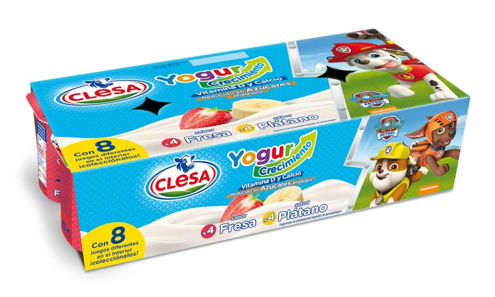 Clesa 'ficha' para sus yogures a la Patrulla Canina