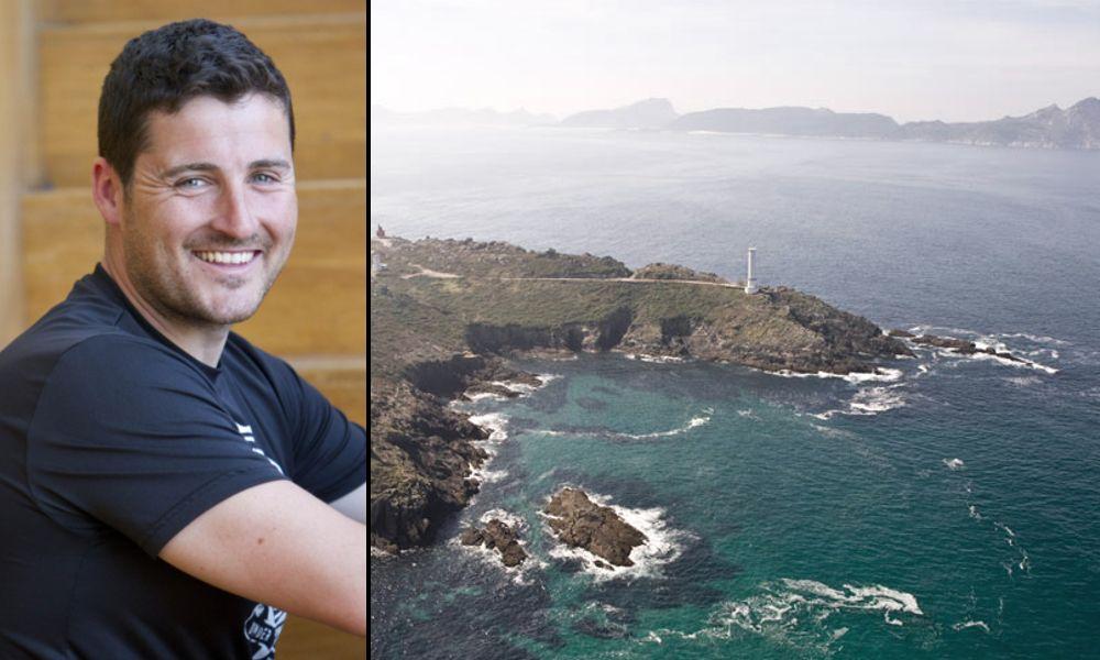 David Cal desconecta en los acantilados de Cabo Home