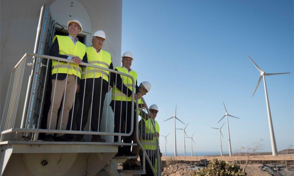 Ecoener logra ayudas para sus proyectos eólicos canarios