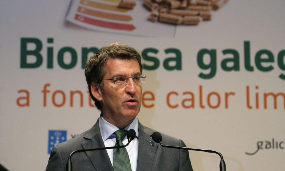 """Feijóo replica al Foro que la economía de Galicia """"está bien orientada"""""""