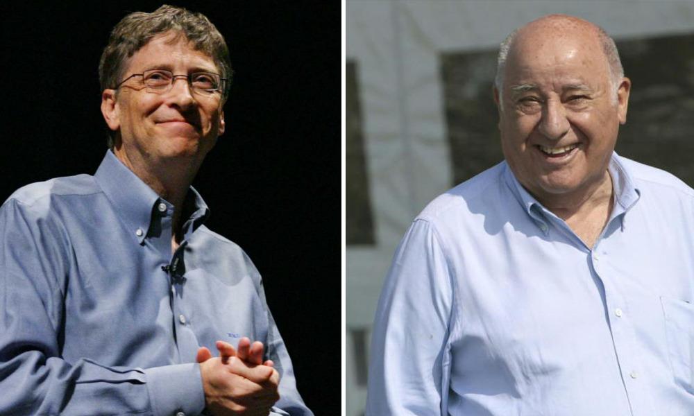 La fortuna de Amancio Ortega crece el triple que la de Gates y Buffett