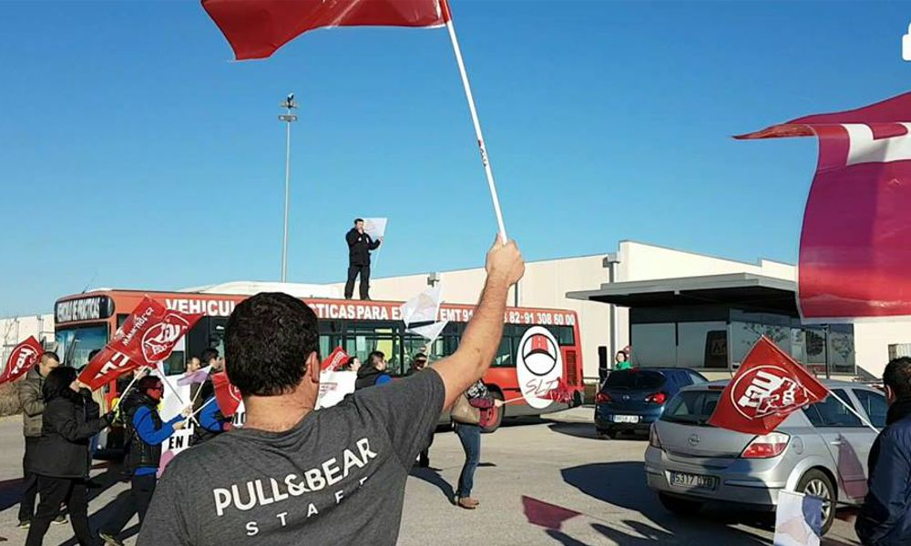 CC.OO. avanza sin freno hacia la huelga textil