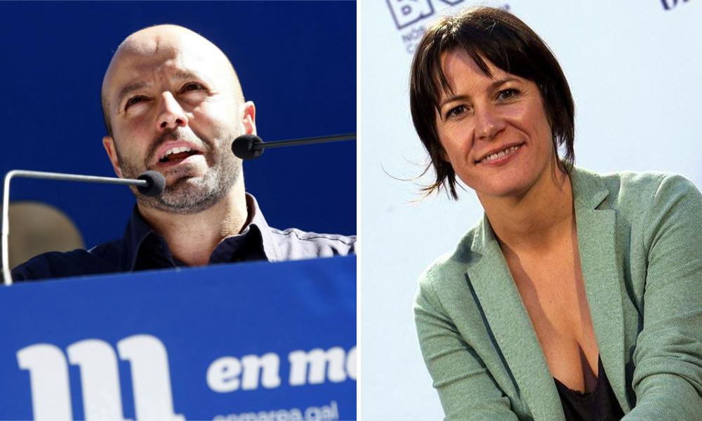 Luis Villares y Ana Pontón, los portavoces más endeudados del Parlamento