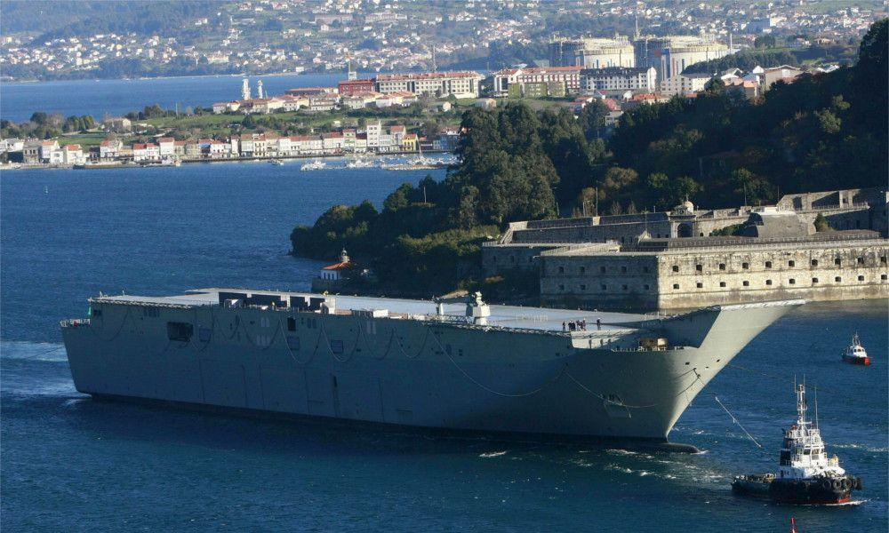Australia detecta fallos en los buques de Navantia