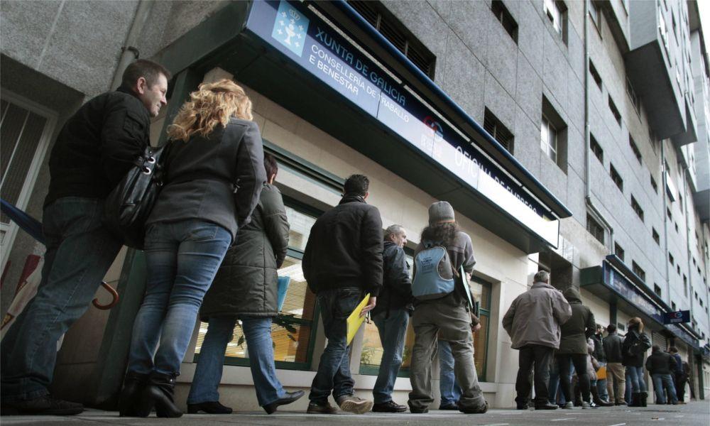 ¿Recuperación? Galicia tiene 45.000 parados más que antes de la crisis