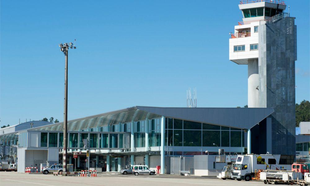 El aeropuerto de Peinador, Vigo