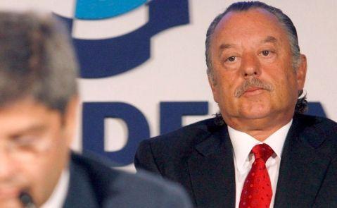 Imagen de archivo de Juan Carlos Rodríguez Cebrián, durante una junta en Martinsa Fadesa / EFE
