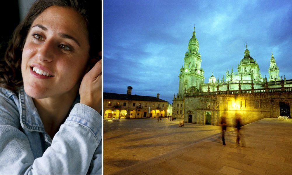 Vero Boquete, entre la paz de la Quintana y el paisaje de Porto do Son