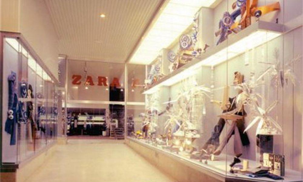 Así eran las primeras tiendas de Zara… y así son las últimas