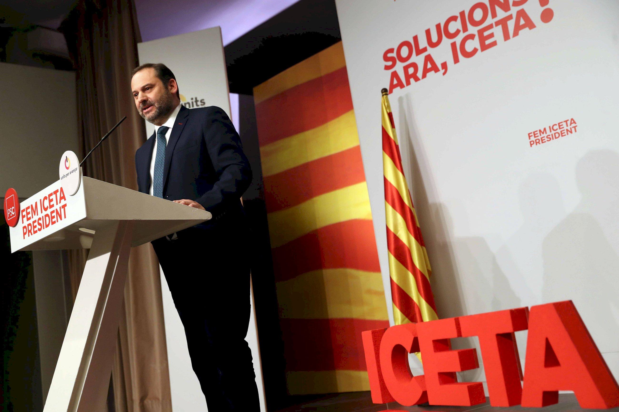 El PSOE critica la ocurrencia de Iceta de ofrecer indultos en Cataluña