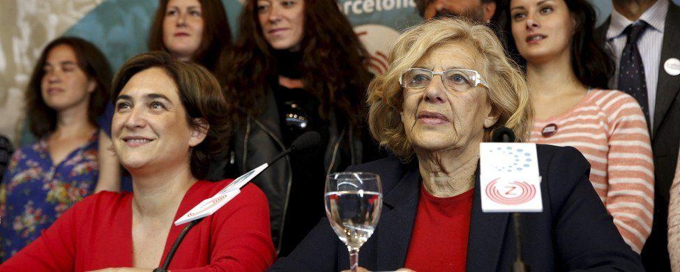 ¿Espejismo Carmena-Colau? PSOE y PP mantienen 40 de las 50 capitales