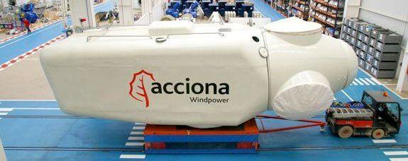 Acciona vende Windpower a Nordex por 785 millones y mantiene un 29,9%