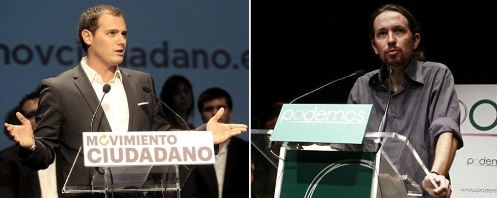 """Pablo Iglesias: """"Albert Rivera podría presentarse perfectamente por el PP"""""""