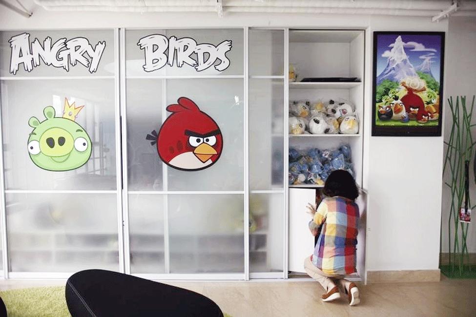 Despido masivo en Angry Birds