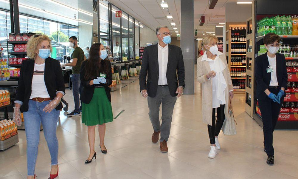 Mercadona inaugura supermercados en plena pandemia