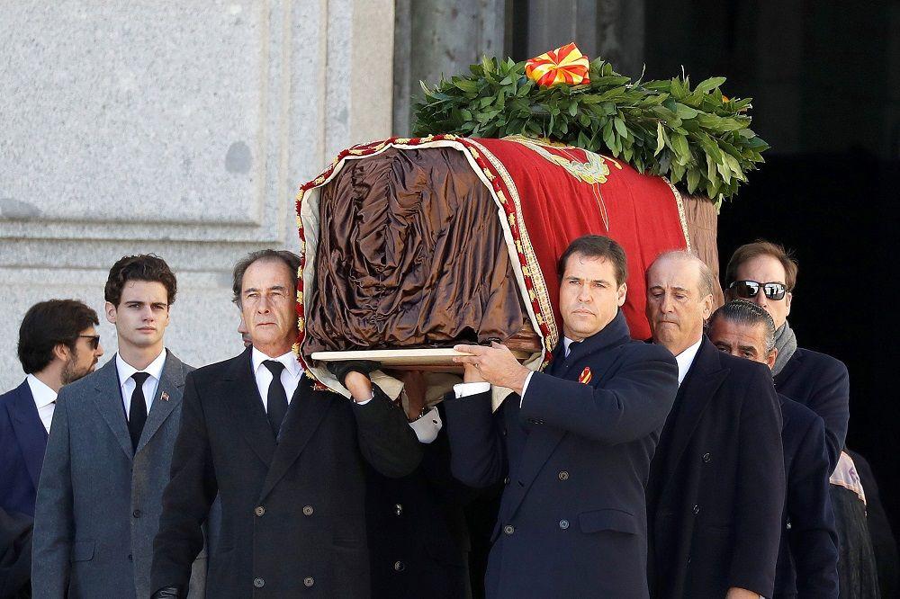 Franco ya está fuera del Valle de los Caídos