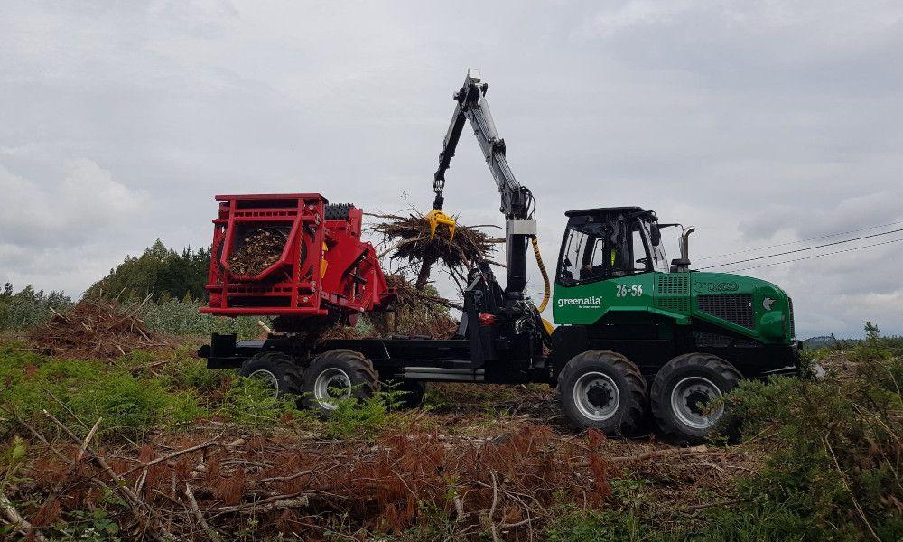 Greenalia contratará a 67 personas para recoger biomasa