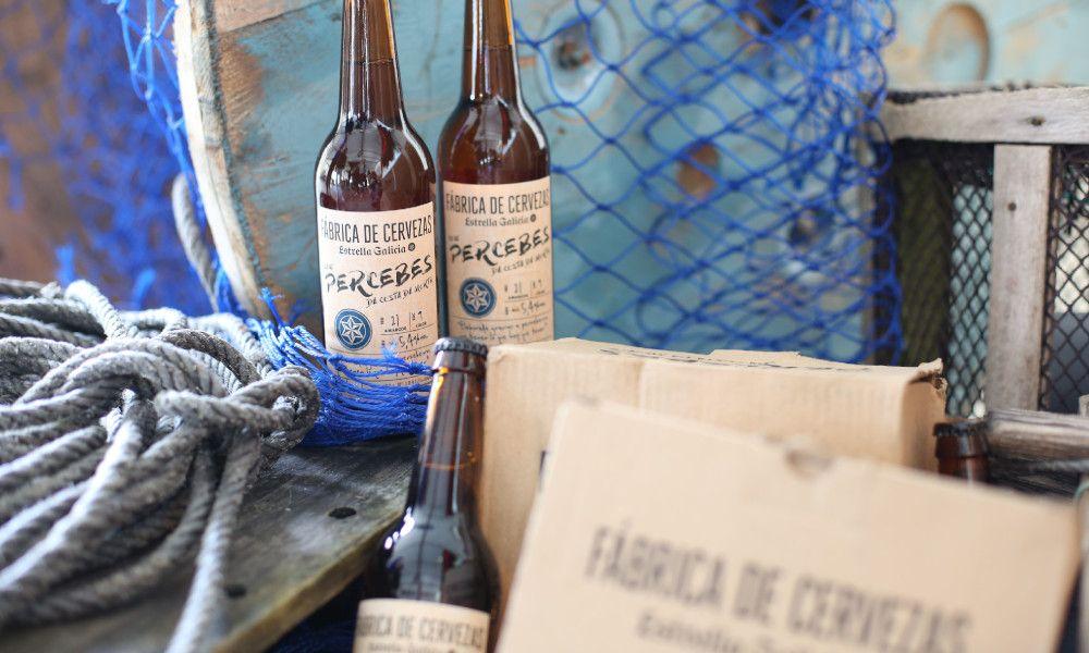 Estrella Galicia venderá 100.000 litros de su cerveza con percebes