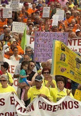 Aumentan las protestas de afectados por preferentes ante la quita europea
