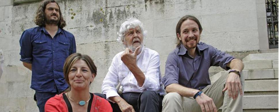 """Beiras a Pablo Iglesias: Galicia no puede ser un """"apéndice de una marca política"""""""