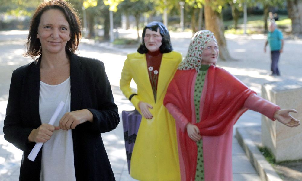Carolina Bescansa da el paso para liderar Podemos Galicia