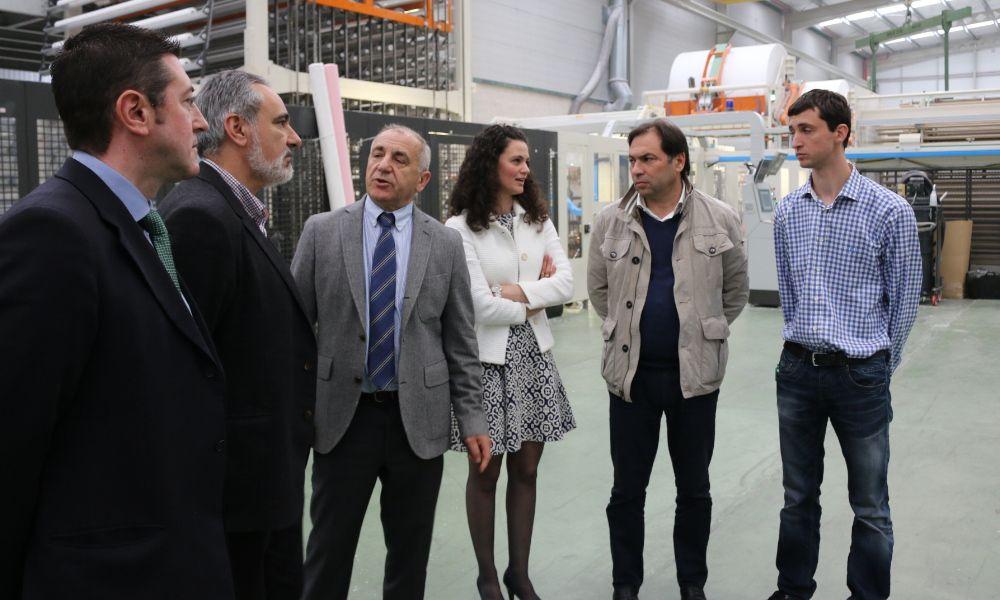 La fábrica de papel de Galicia está en Ponteareas